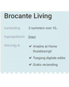 Brocante Living - 3 nummers 10 euro SA