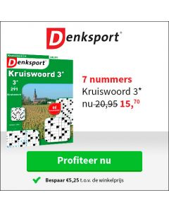 Denksport Kruiswoord 13 nrs € 43,90 TWO
