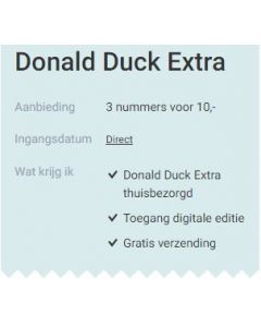 Donald Duck Extra - 3 nummers 10 euro SA