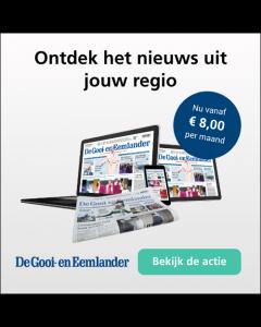 Gooi en Eemlander Zaterdag+ 1/6 | 1 jaar € 3,10 p.w. TWO