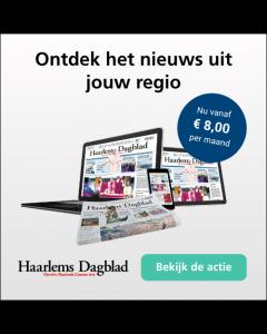Haarlems Dagblad Digitaal 0/6 | 3 jaar € 1,77 p.w. TWO