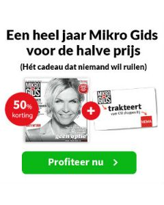 Mikro Gids - 1 jaar 33 euro TWO