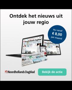 Noordhollands Dagblad Digitaal 0/6 | 1 jaar € 2,18 p.w. TWO