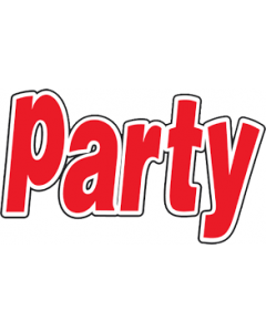 Party 6x € 15,-- KADO