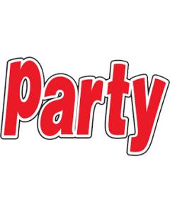 Party 24x € 50,-- KADO