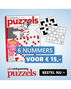 Plus Puzzels 6 nrs € 15,-- KADO