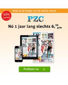 Provinciale Zeeuwsche Courant (PZC) Compleet 6/6  3 jaar - € 6,-- p.w. TWO