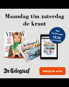 De Telegraaf Compleet 6/6 (ma-za) | 2 jaar € 5,65 p.w. TWO