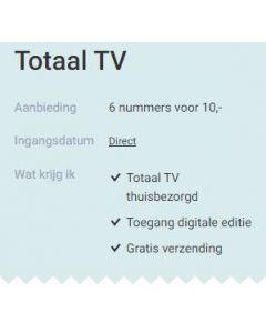 Totaal TV - 6 nummers 10 euro SA