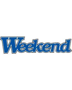 Weekend   11x € 25,-- KADO